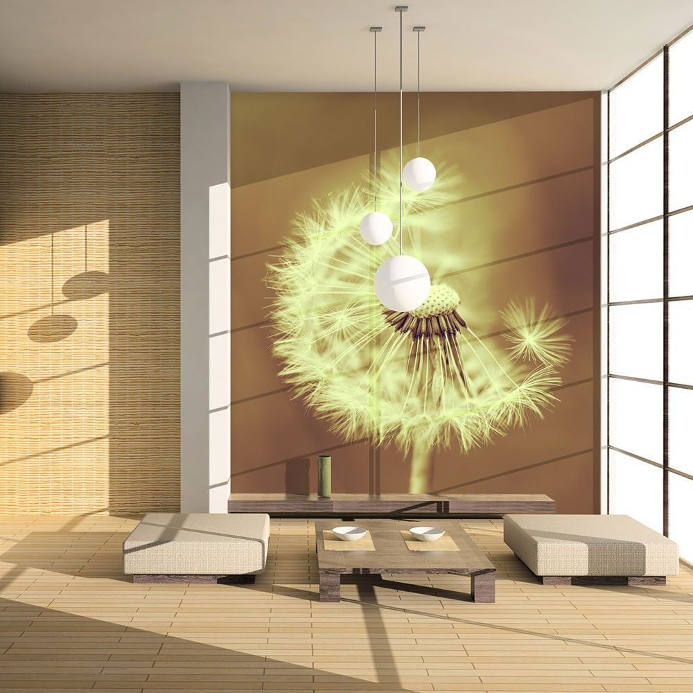 Wallpaper Dandelion Sepia 3d Wallpaper Murals Uk