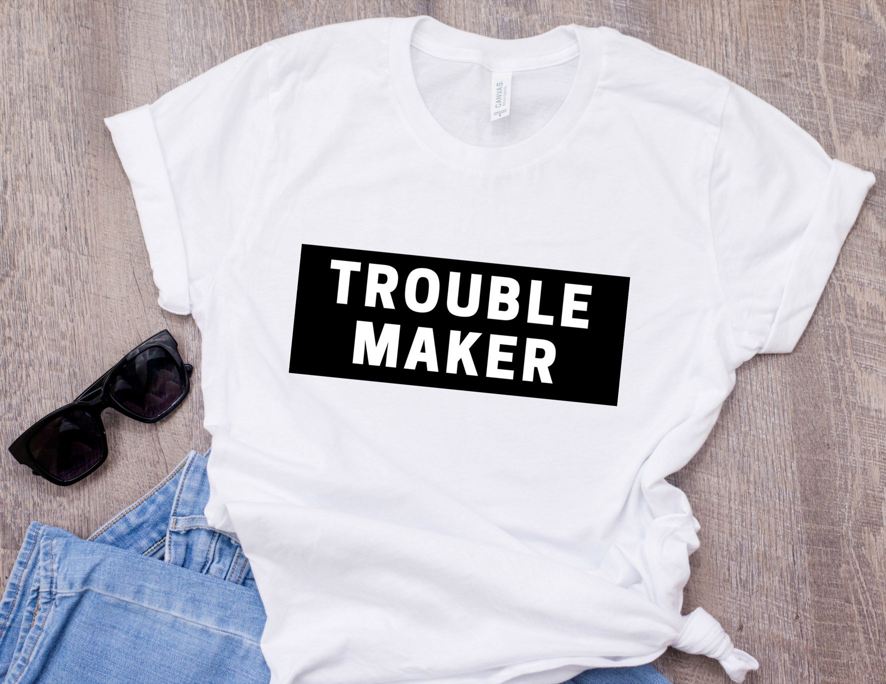 Trouble Maker T-Shirt f1feda391530