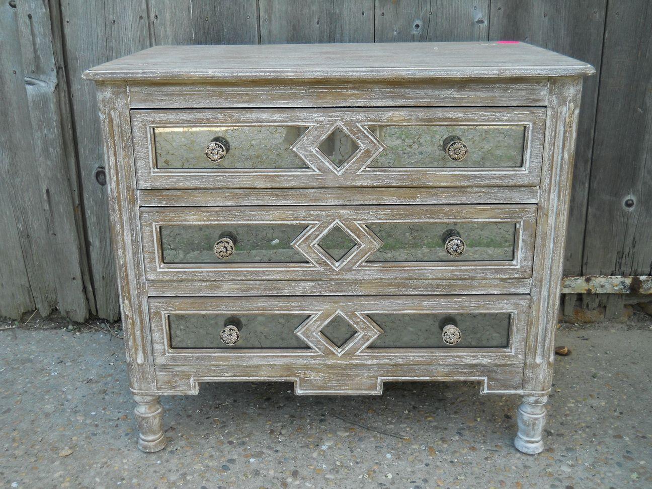 white washed furniture whitewash. Distressed White Washed Furniture. Whitewashed With Mercury Glass Inlay Furniture Whitewash F