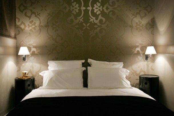 Slaapkamer behang. - slapen op zolder | Pinterest - Slaapkamer ...