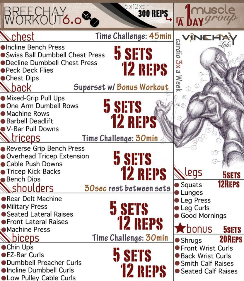 Breechays workout challenge yourself with each rep and