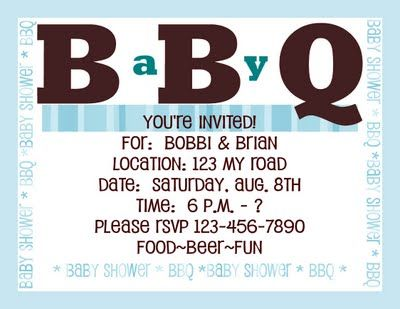 Baby BBQ ~~~ I love this party, great ideas for a co-ed baby shower, cool games & wish I had been there