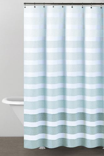 teal striped shower curtain. DKNY Highline Stripe Shower Curtain  For the Home Pinterest
