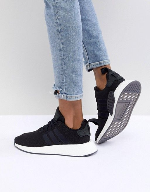 2e43f336a adidas Originals NMD R2 Sneakers In Black  Sneakers