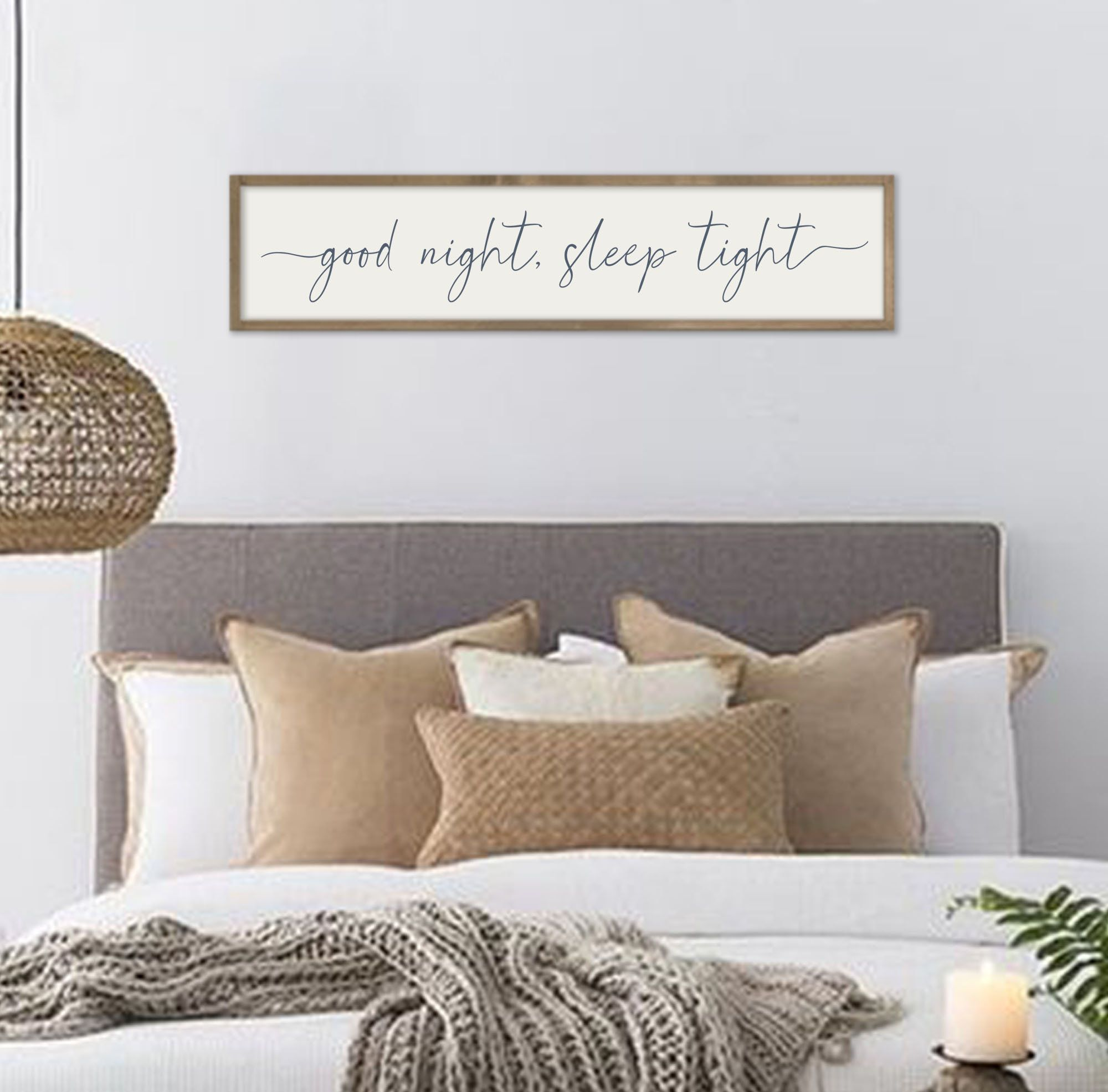 Guest Bedroom Sign Good Night Sleep Tight Guest Room Wall
