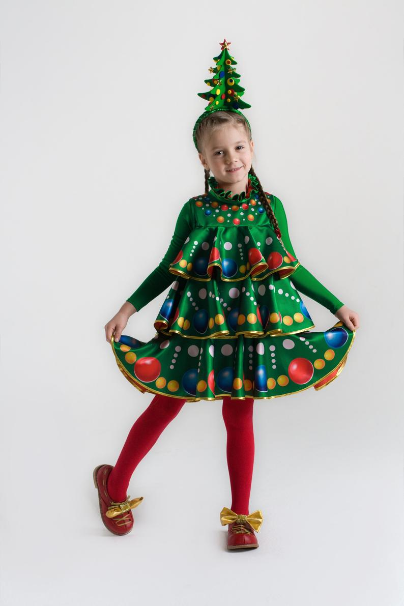 Children S Carnival Costume Christmas Tree New Year Christmas Tree Costume Carnival Costumes Christmas Tutu