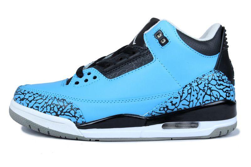 Air Jordan Blue Shoes
