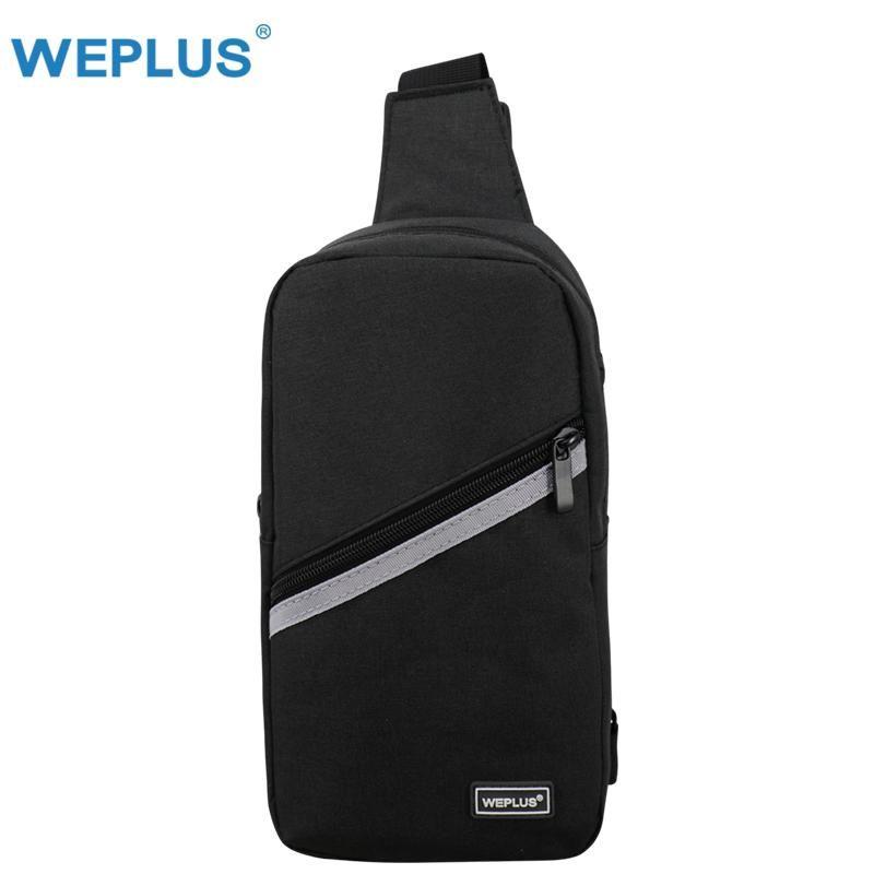 691384d4f1 Oxford Men Chest Pack Single Shoulder Strap Back Bag Crossbody Bags for  Women belt Travel Antitheft