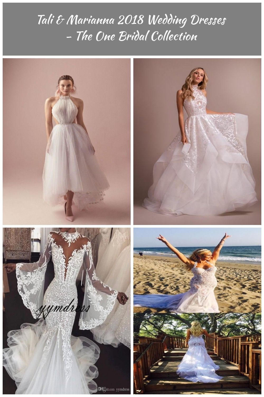 Halter Neck Short Wedding Dress Tali Marianna 2018 Wedding Dresses The One Bridal Collection Weddingdress Wedding Dresses Halter Wedding Dress Dresses [ 1500 x 1000 Pixel ]