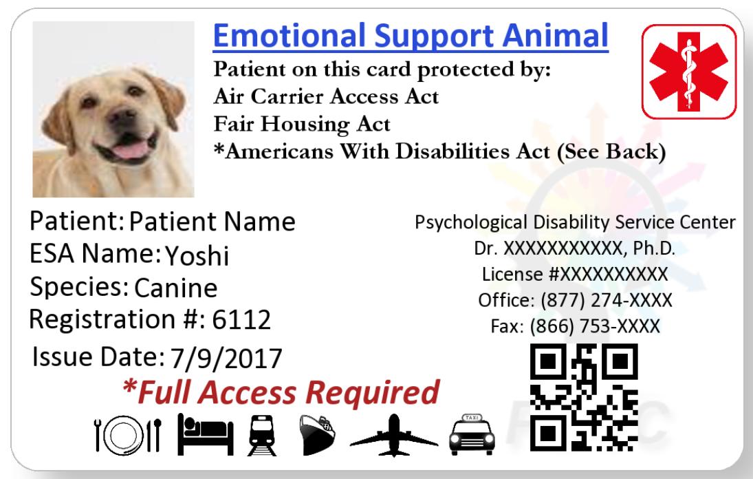 Pdsc Psychological Disability Service Center I Esa Emotional