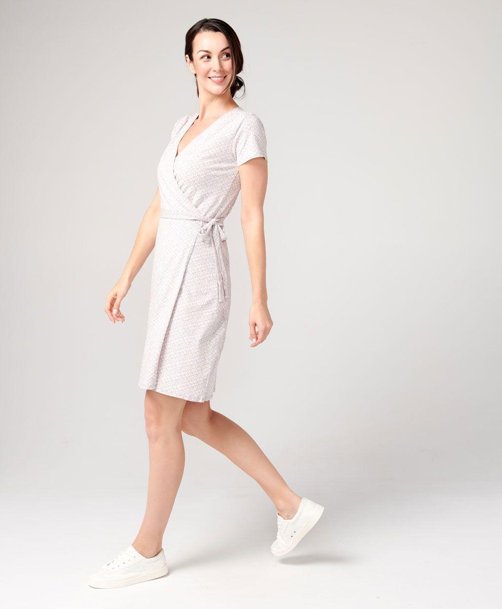086849dd33722a Women's Super Soft Organic Cotton Wrap Dress | PACT Apparel | My ...