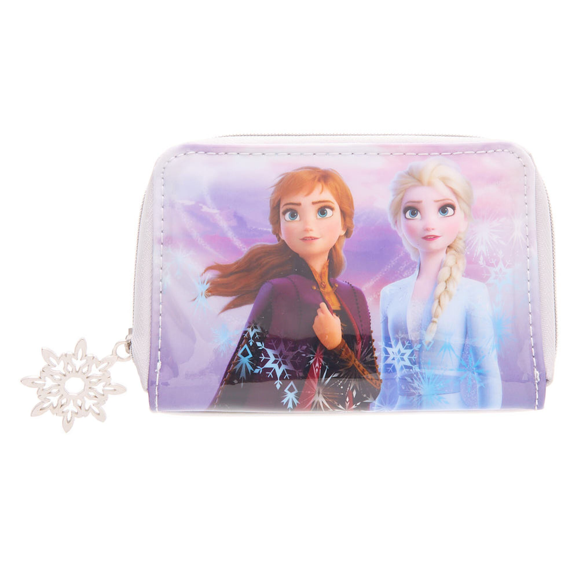 Disney Frozen Elsa and Anna Girl/'s Glitter Heart Stud Earring Set of 2 New