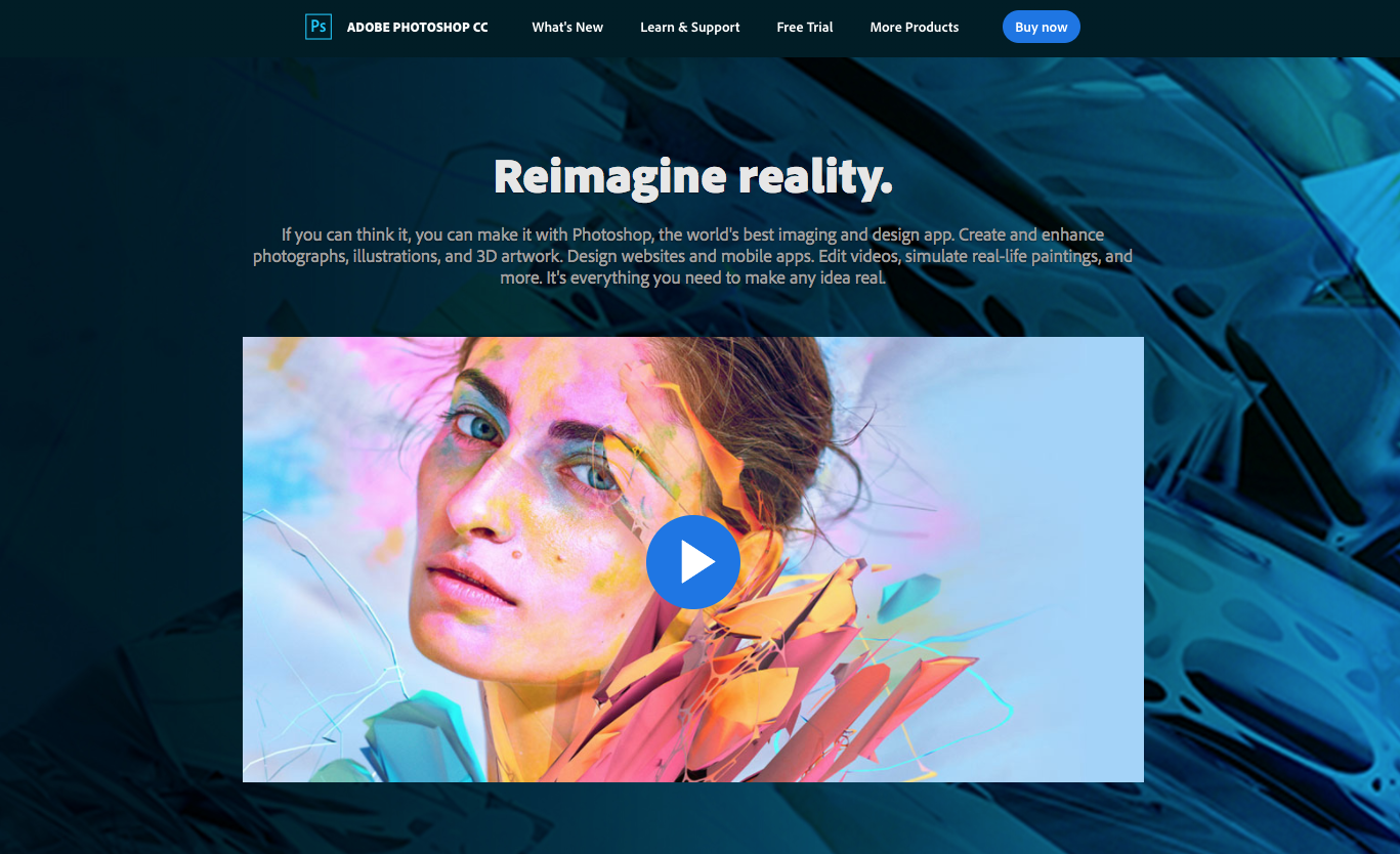 Adobe Photoshop Cc This Is The Best Design Tool Forever You Can Do All Digital Design With The Help Of An Tool Design Web Design Tools Best Web Design