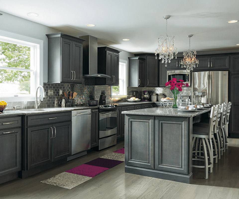 10 gray kitchens that will make you rethink your color choices kitchen cabinets decor new on kitchen decor grey cabinets id=18274