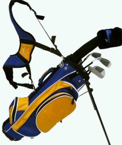 4a4bec73499 Linksman Golf 3-5 Year Old Boys Junior Golf Set w  Stand Bag at