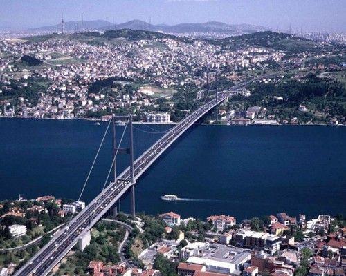 Puente sobre el Río Bósforo, Estambul