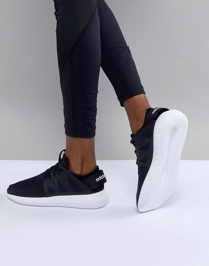 various colors 38e50 4d046 adidas Tubular Viral Running Sneaker - Black