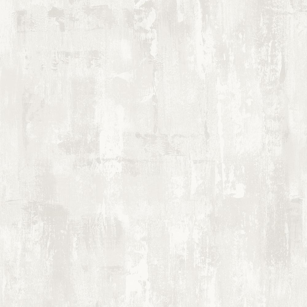 Graham & Brown Strata Bellagio White Removable Wallpaper