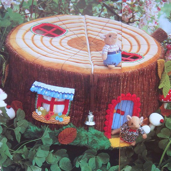 vintage DORMOUSE HOUSE sewing pattern (80s) | Mice | Pinterest ...