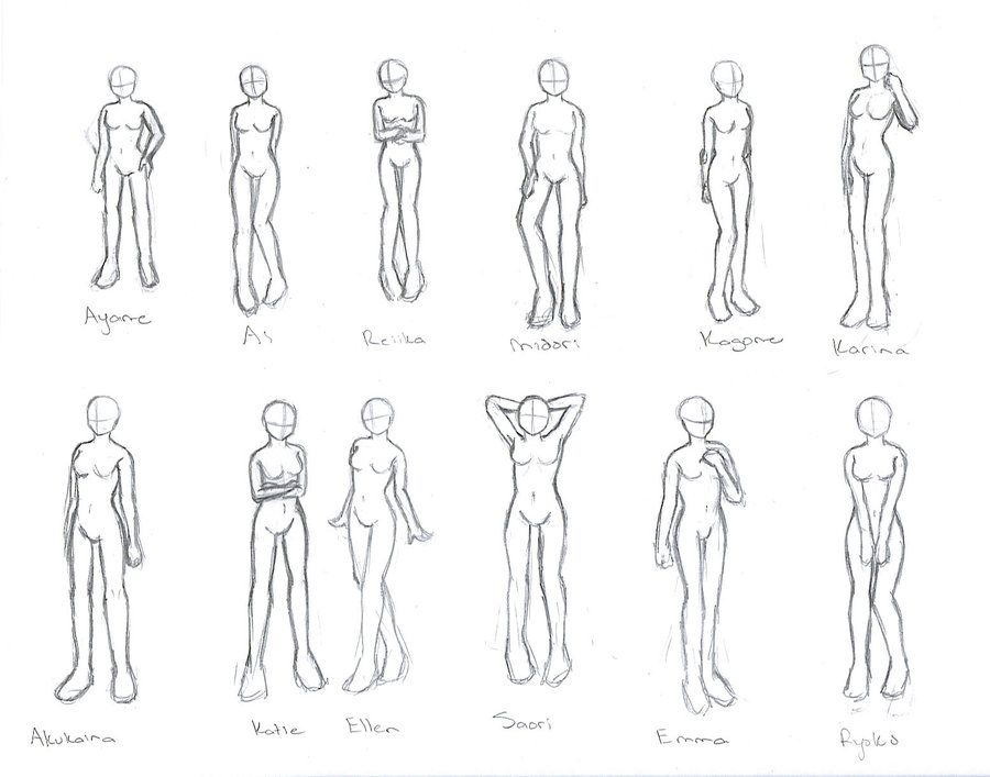 Character Poses Character Poses Anime Poses Body Poses