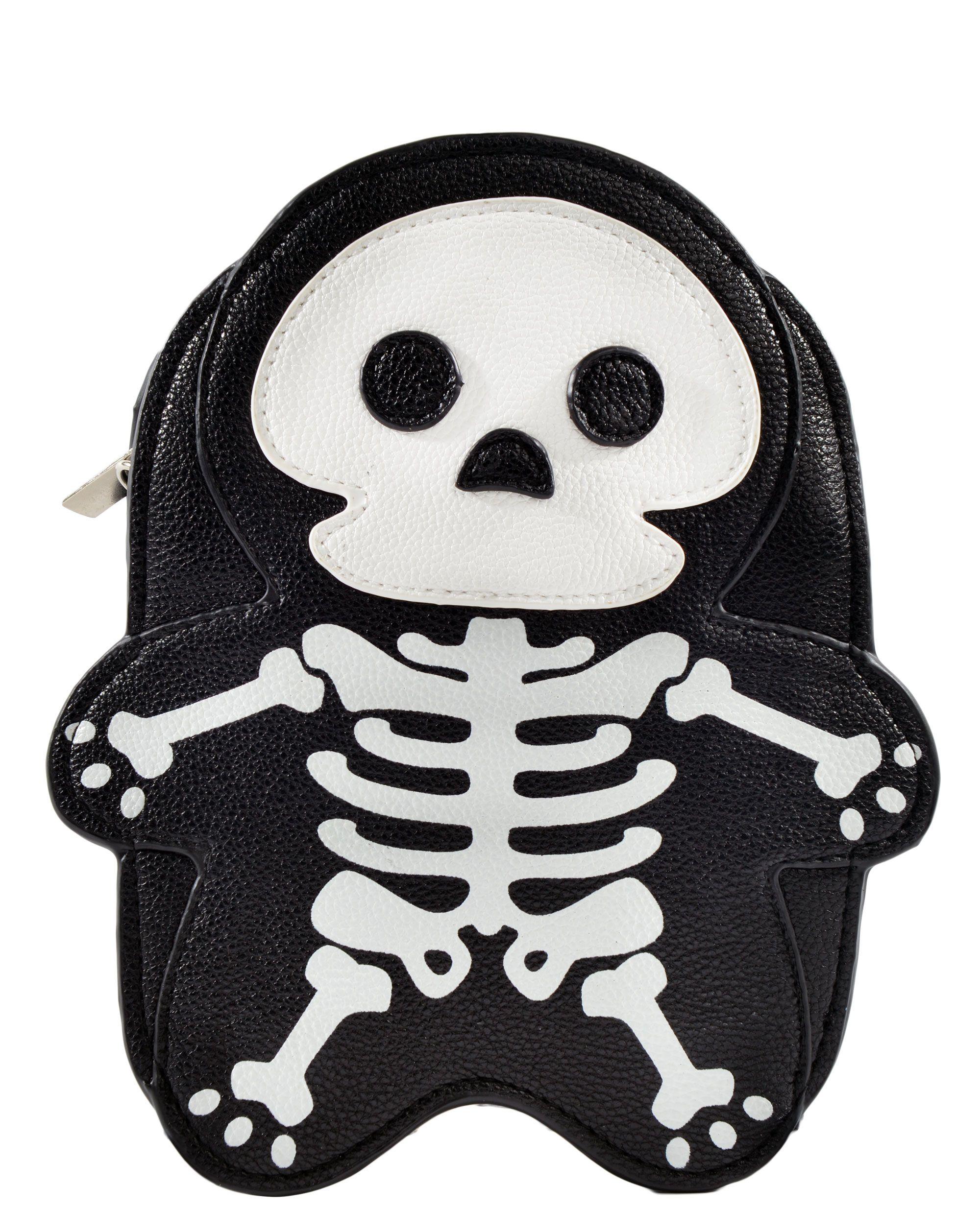 Skeleton Cross Body Bag
