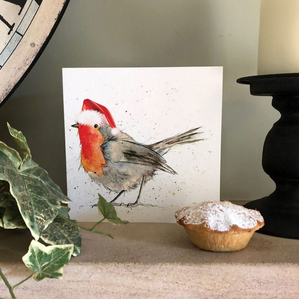 Animal Charities 2020 Christmas Cards Christmas Cards | Bird and Animal Greeting Cards | Sarah Boddy in