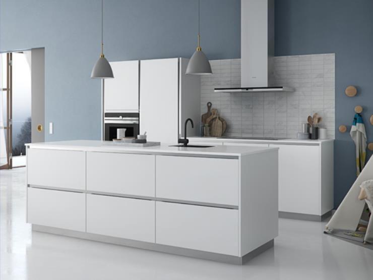 Bildresultat For Kvik Tinta Wit Witte Keuken Minimalistische Keuken Keuken Ontwerp