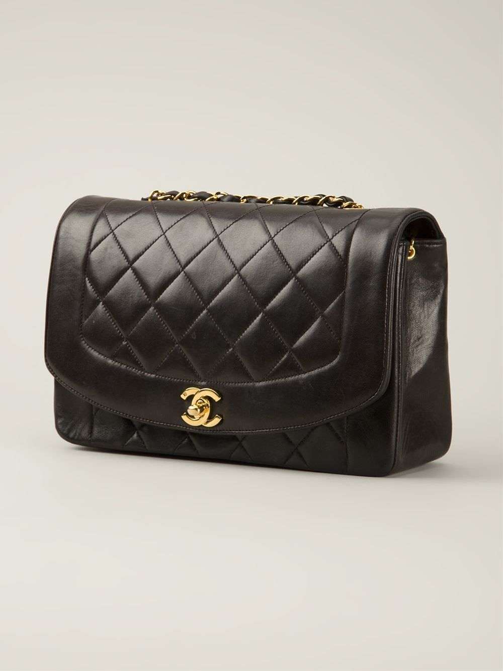 Chanel Vintage Quilted Shoulder Bag - Bella Bag - Farfetch.com