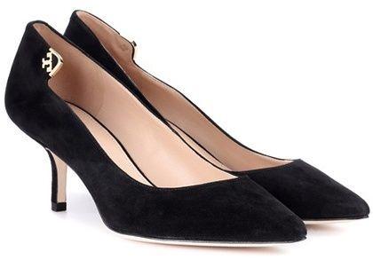 25f0e7f04f7 Tory Burch Escarpins en daim Elizabeth 65 | Can't resist them shoes ...