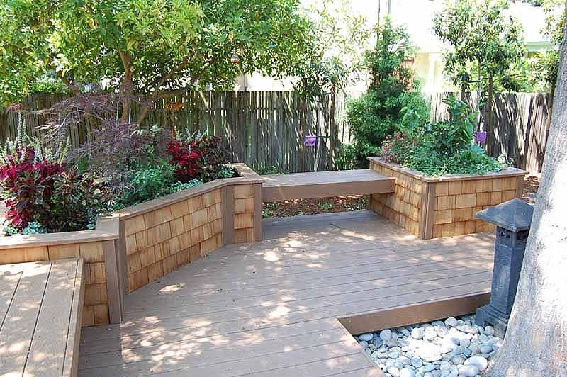 Retaining Walls Raised Flower Beds Benches Decking 400 x 300