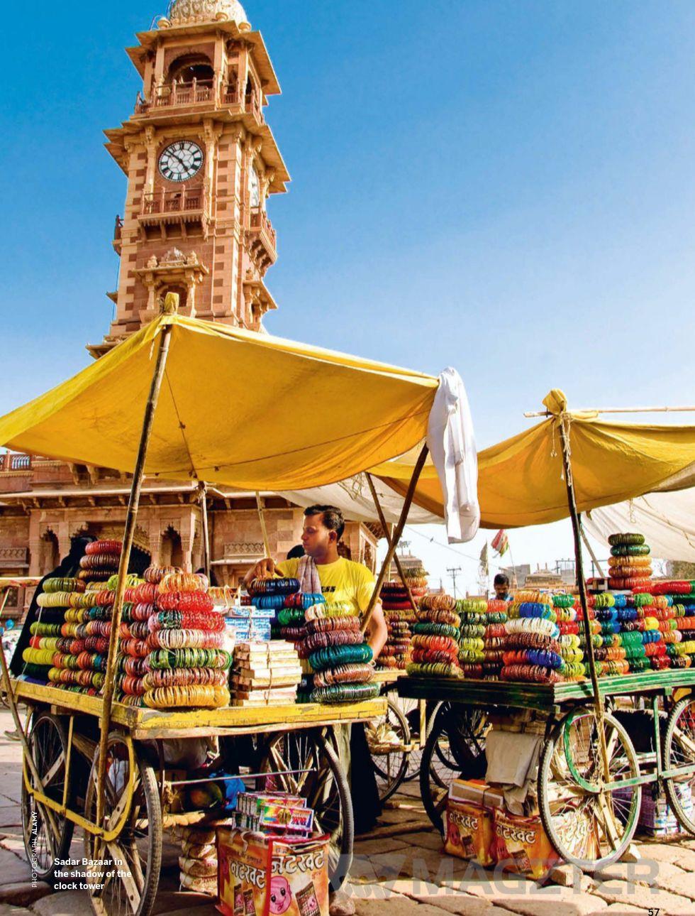 Sadar Bazaar Jodhpur India