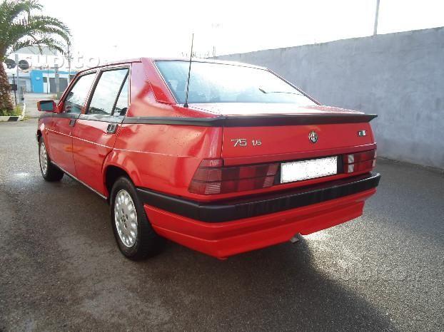 Alfa Romeo 75 1990 Auto Usata In Vendita Lecce Auto Auto Usate Alfa Romeo