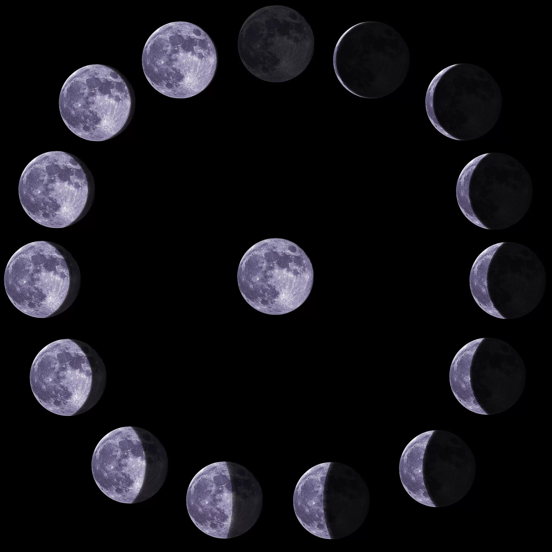 что все фазы луны с фото заманчивых