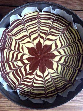 Torta zebrata - Zebra cake recipe