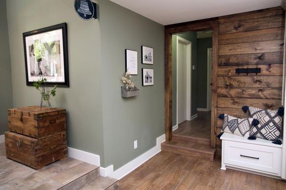 chip and joanna add warmth and rustic style to a modern ranch house creating an ideal family on farmhouse kitchen wall colors id=51242