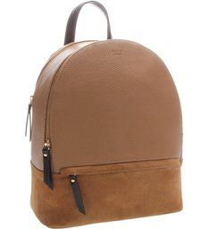 7894339c2 Mochila Couro Grande Prione Castor | Looks | Backpack bags, Leather ...