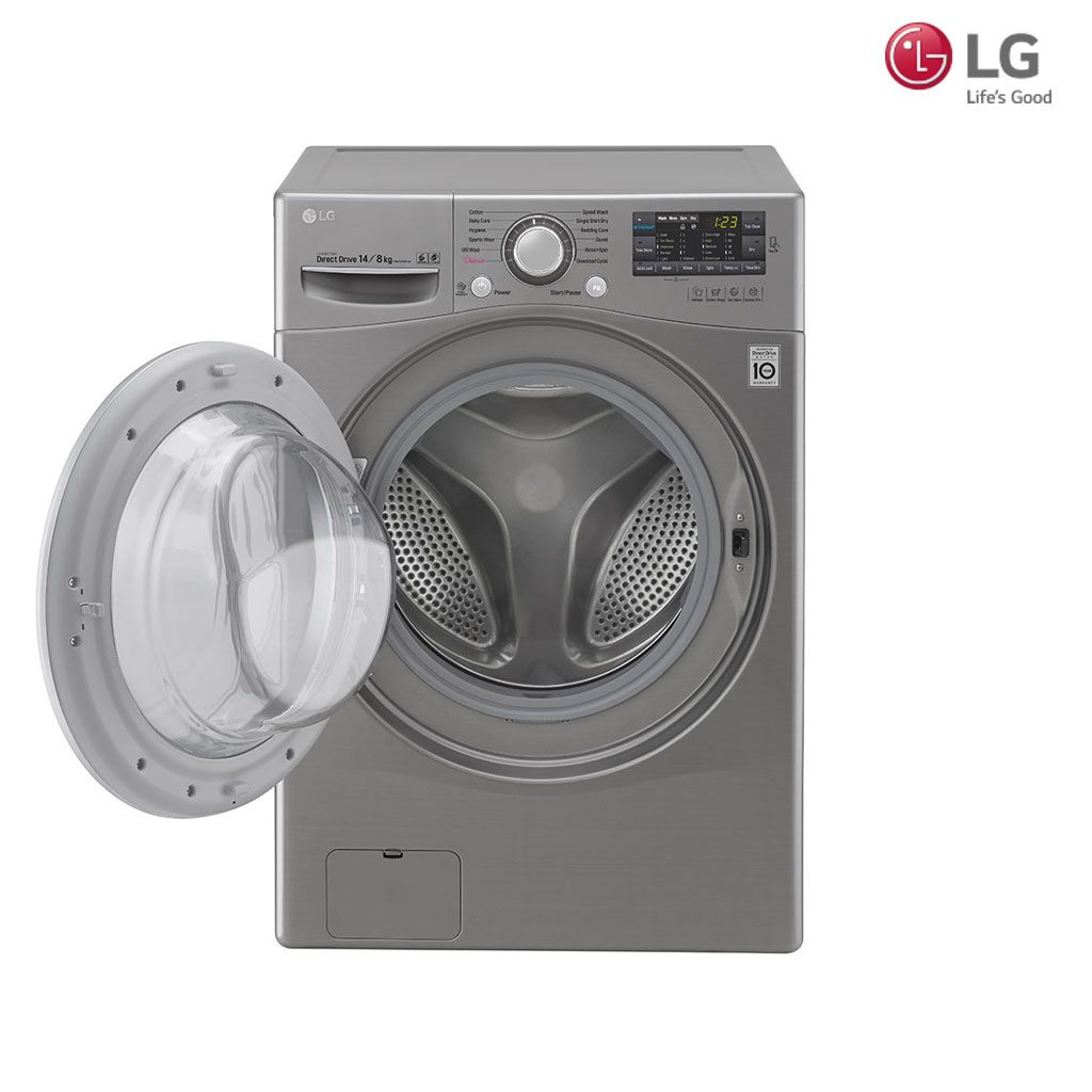 Lg 14kg 8kg Inverter Direct Drive Washer Dryer F2514dtge Washer And Dryer Washer Dryer