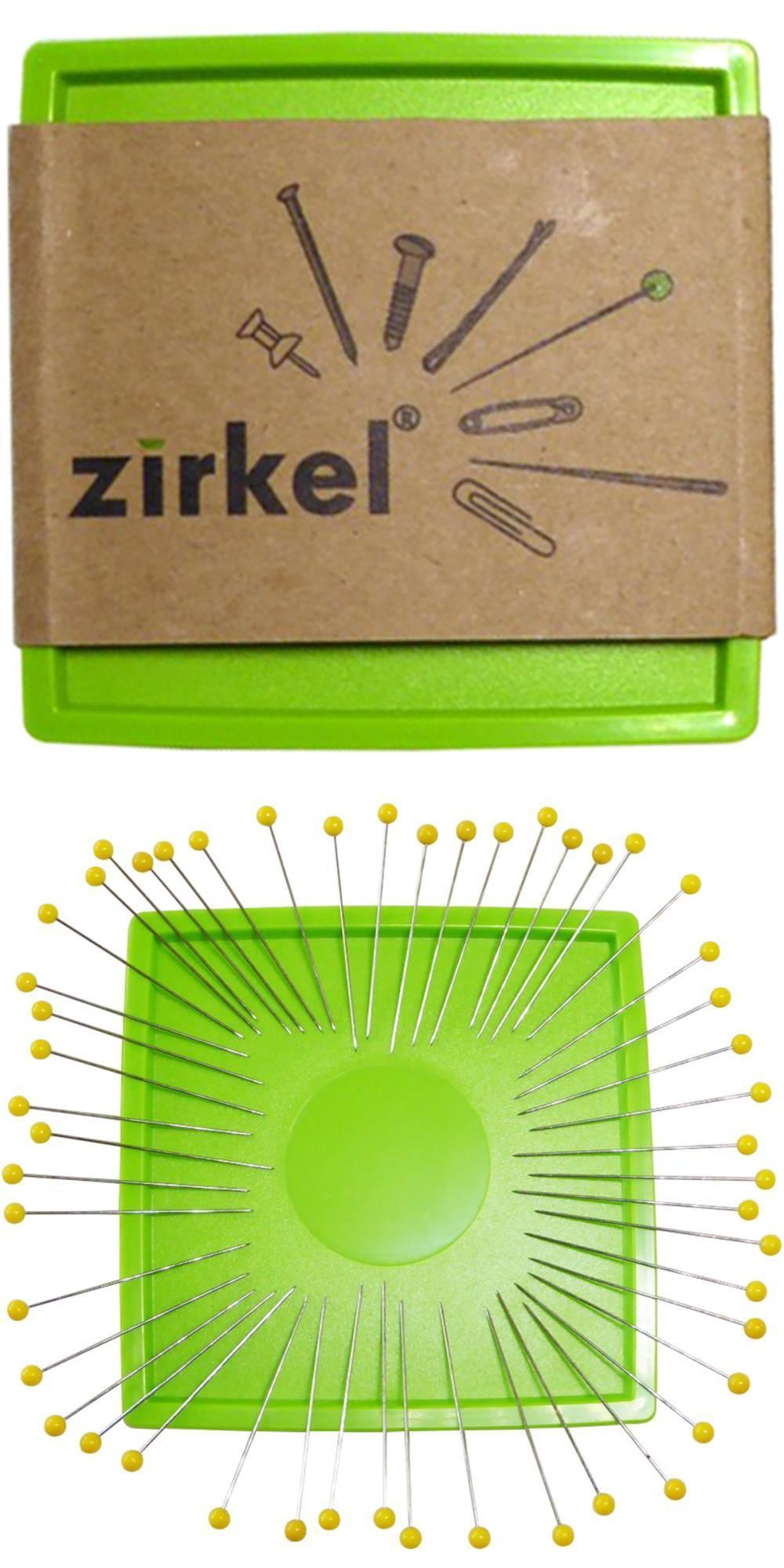 The Zirkel Organizer Magnetic Pin Cushion Lime Green