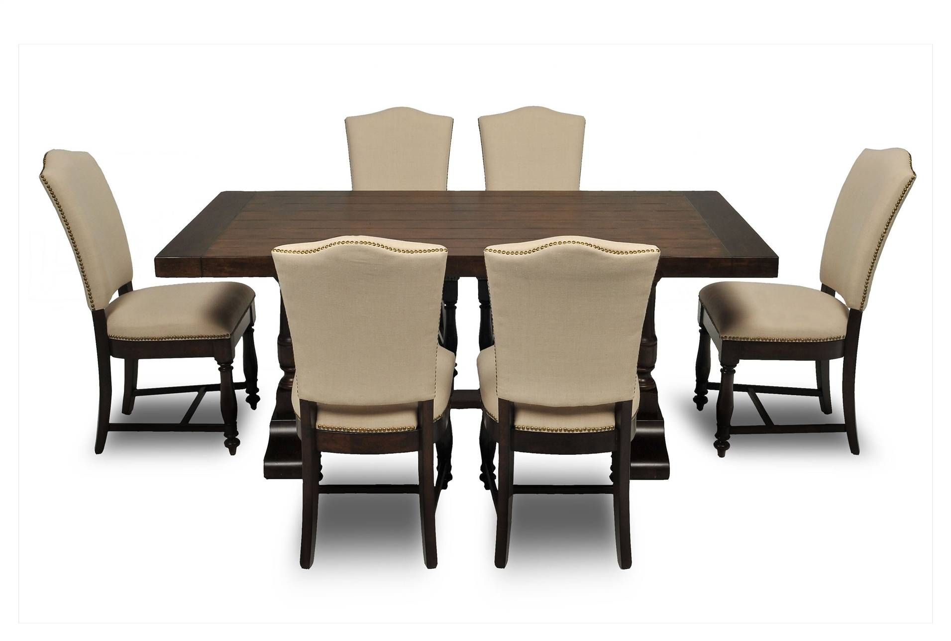 Arlo Uph 7 Piece Dining Set 59004-7 Available for same day ...