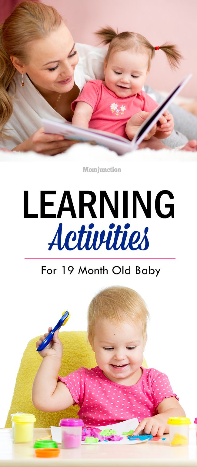 13 Learning Games And Activities For 19 Month Old Baby | Baby ...