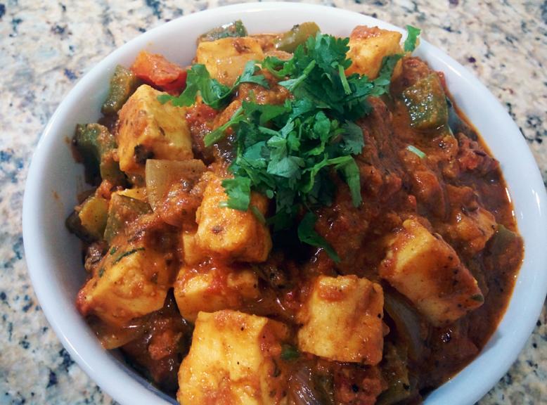 kadai paneer curry recipe this is a mouth watering thick aromatic paneer curry kadhai paneer on hebbar s kitchen kadai paneer id=50247