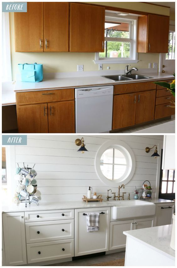 Small Kitchen Remodel Reveal Before And After  The Inspired Room Extraordinary Small Kitchen Remodel Ideas Decorating Design