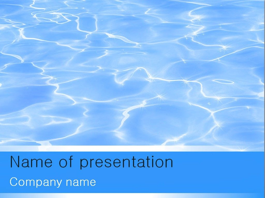 water powerpoint template powerpoint templates pinterest