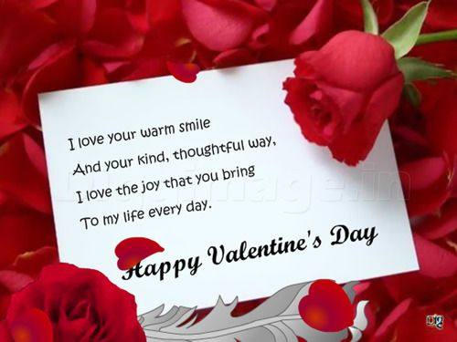 Happy Valentines Day 2016 Quotes Wishes Sms For Boyfriend
