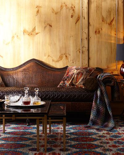 Old Hickory Tannery Cedar Park Sofa, Cedar Park Furniture