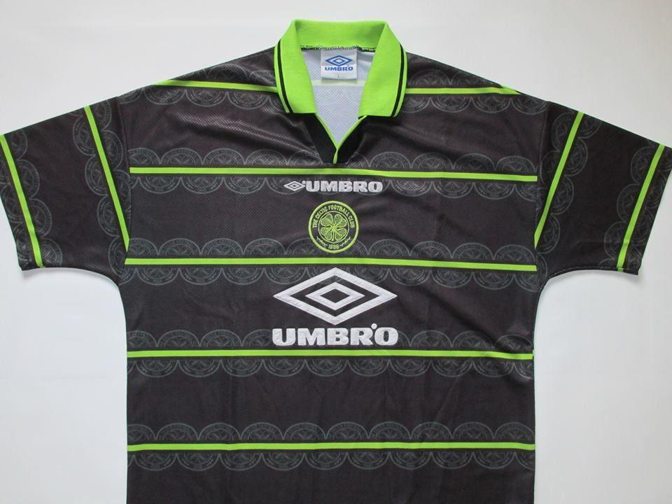 quality design 71a35 aae8c Celtic scotland 1998/1999 away football shirt jersey umbro l ...