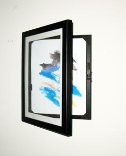 8 5x11 Lil Davinci Art Cabinet Art Cabinet Kids Artwork Framed Art