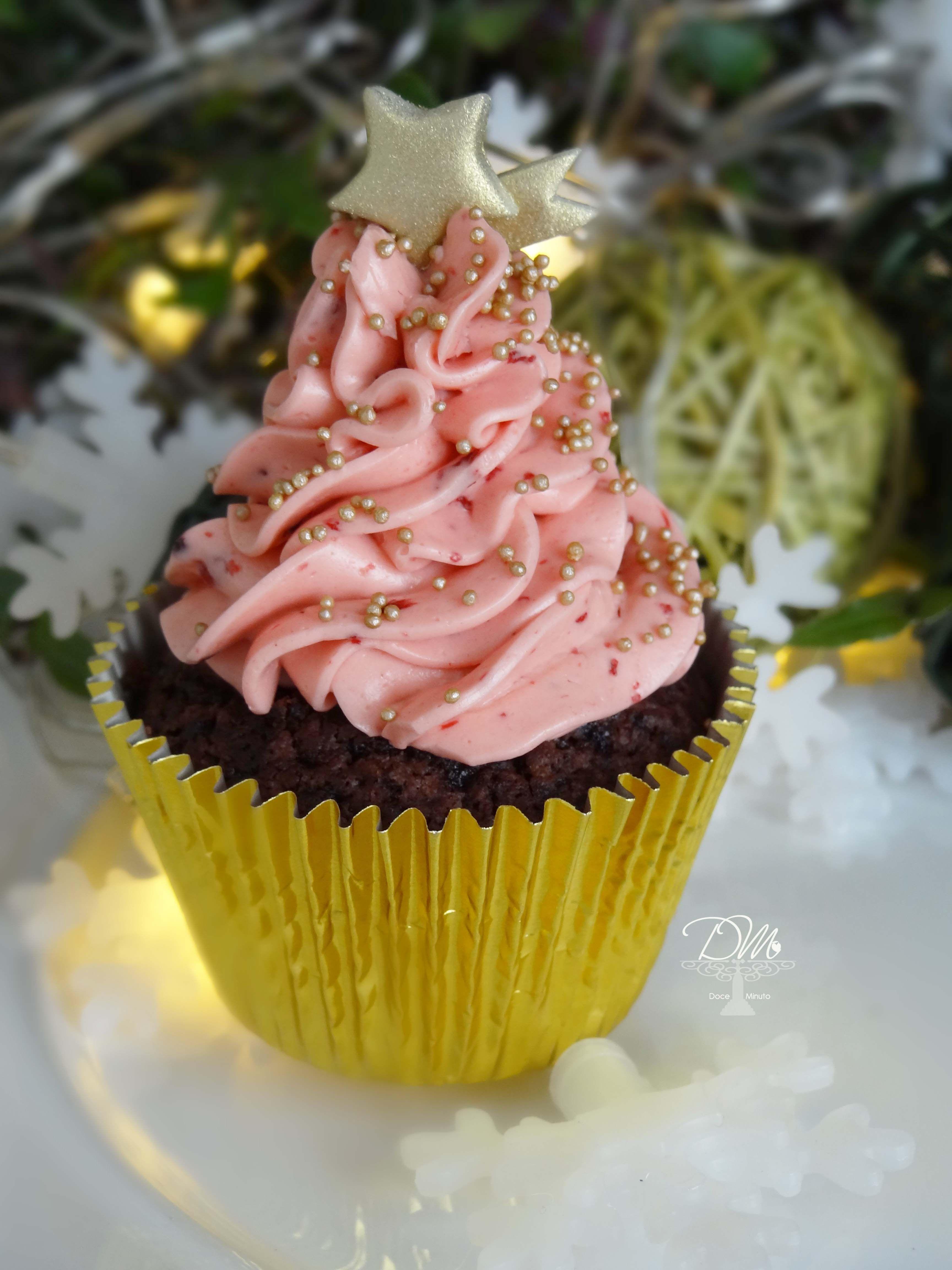 Cupacake Natalino. Christmas Cupcake.