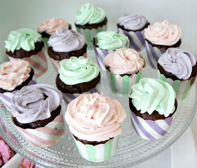 Muffinit pastellibileisiin! #cupcakes