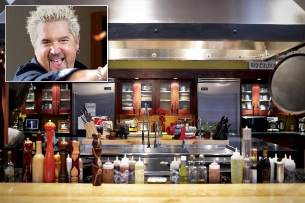 Guy Fieri Outdoor Kitchen | Guy Fieri (Diners, Drive Ins, And Dives